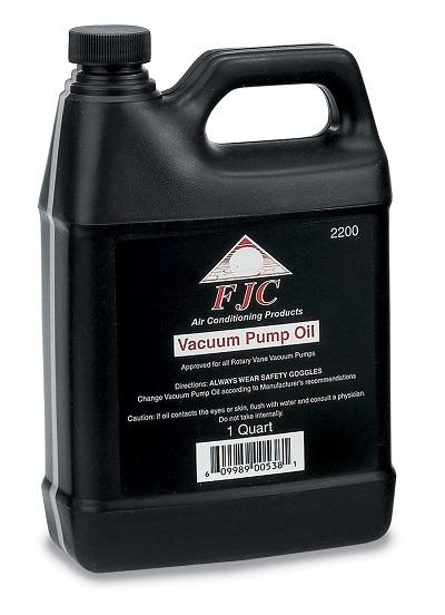 2200 FJC Vacuum Pump Oil quart – FJC Inc