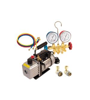 9281 Vacuum Pump and Gauge Set Assortment