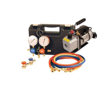 9270 HD Vacuum Pump and Gauge Set Assortment