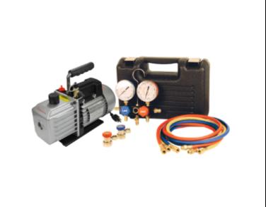 9271 HD Vacuum Pump and Gauge Set Assortment