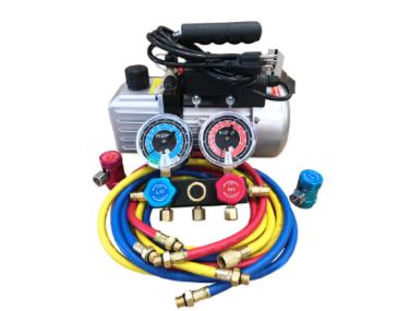 9281yf Vacuum Pump and Gauge Set for R-1234yf