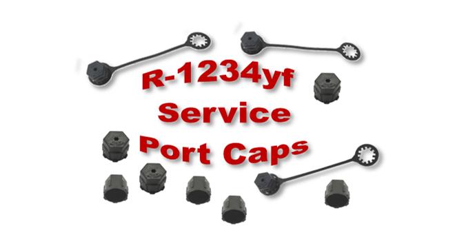 R-1234yf Service Port Caps