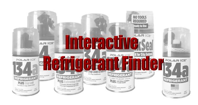 Interactive Refrigerant Can Finder